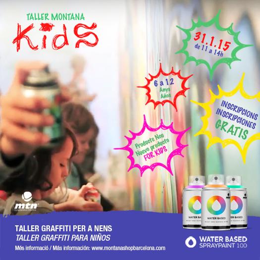 Taller graffiti per a nens taller graffiti para ni os for Graffitis para ninos